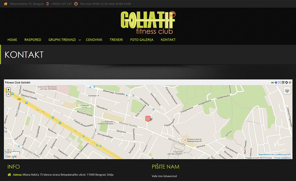 Fitness Club Goliath