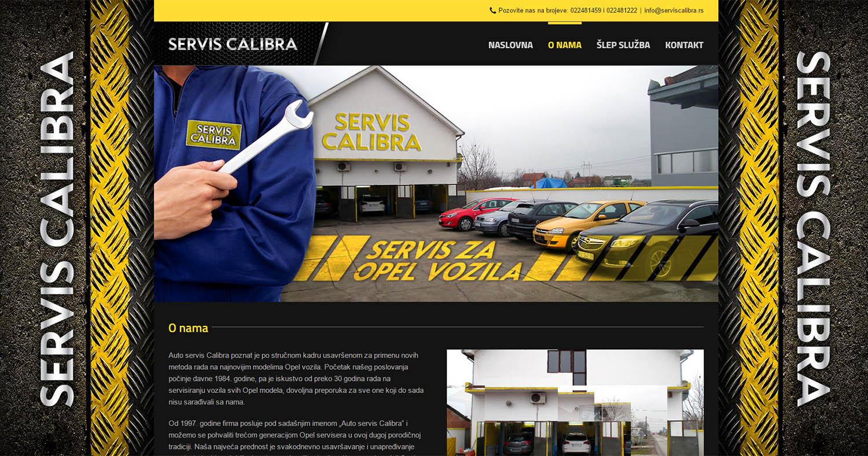 Auto servis Calibra