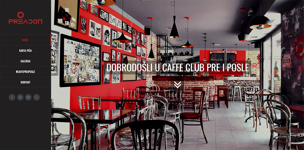 Caffe Club Pre i Posle  Beograd  Zvezdara  Belopalanačka ulica
