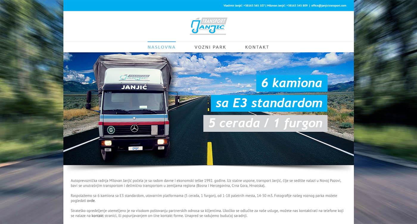 Janjić Transport