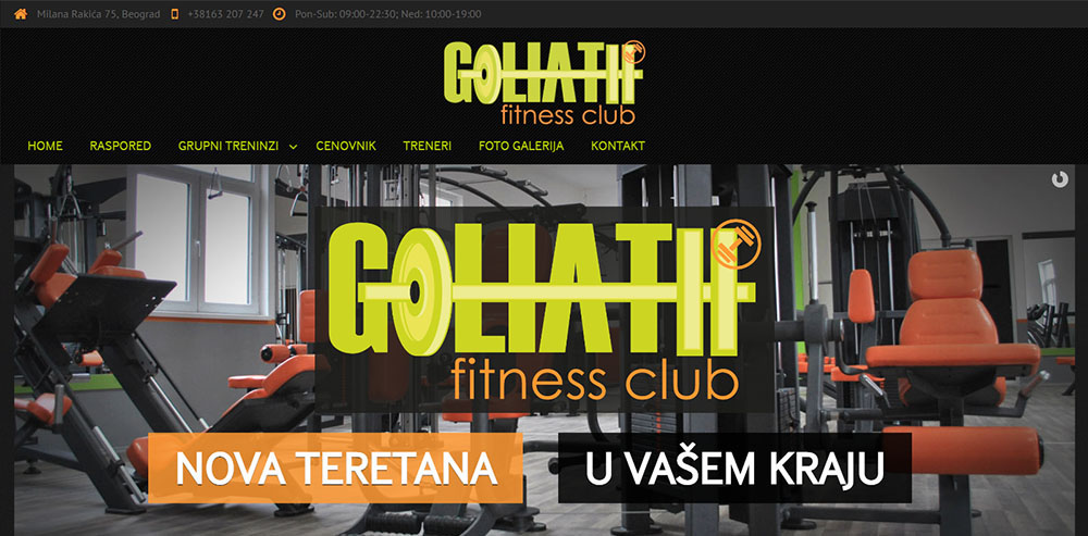 Fitness Club Goliath 1