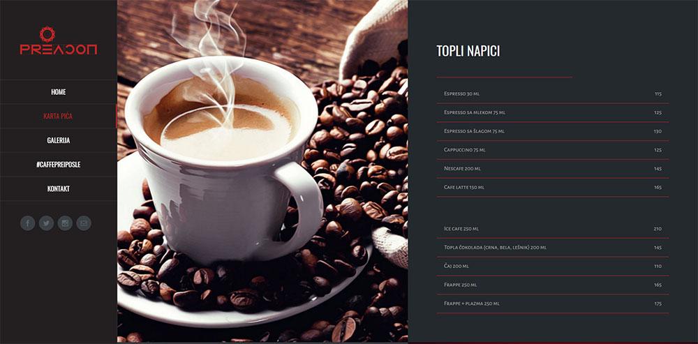 Caffe Pre i Posle 2