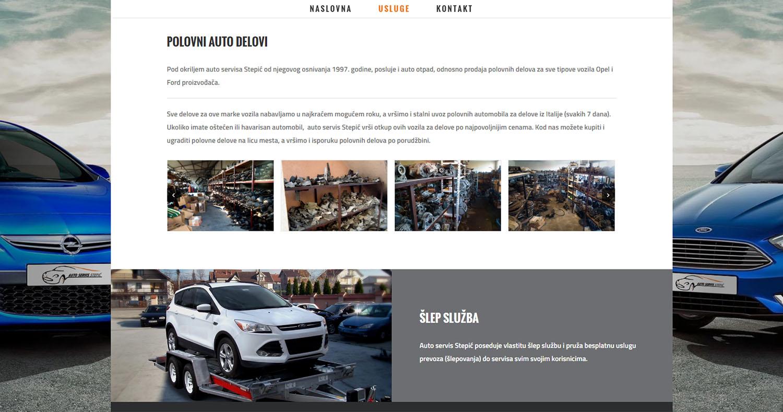 Auto servis i otpad Stepić